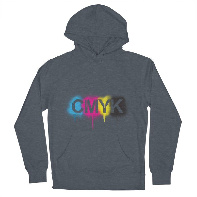 CMYK Men's Pullover Hoody by tonydesign's Artist Shop