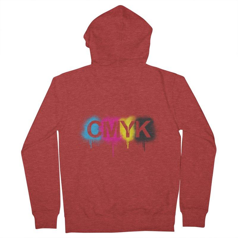 CMYK Women's Zip-Up Hoody by tonydesign's Artist Shop