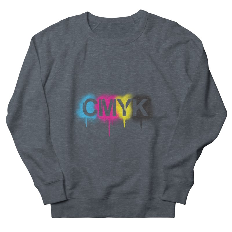 CMYK Men's Sweatshirt by tonydesign's Artist Shop