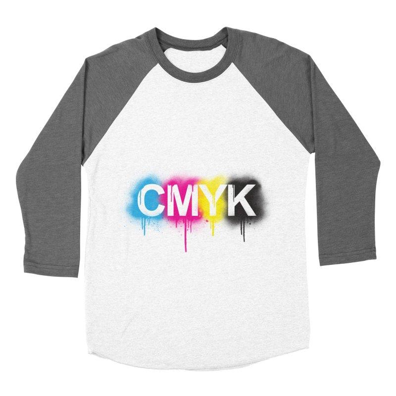 CMYK Women's Baseball Triblend T-Shirt by tonydesign's Artist Shop