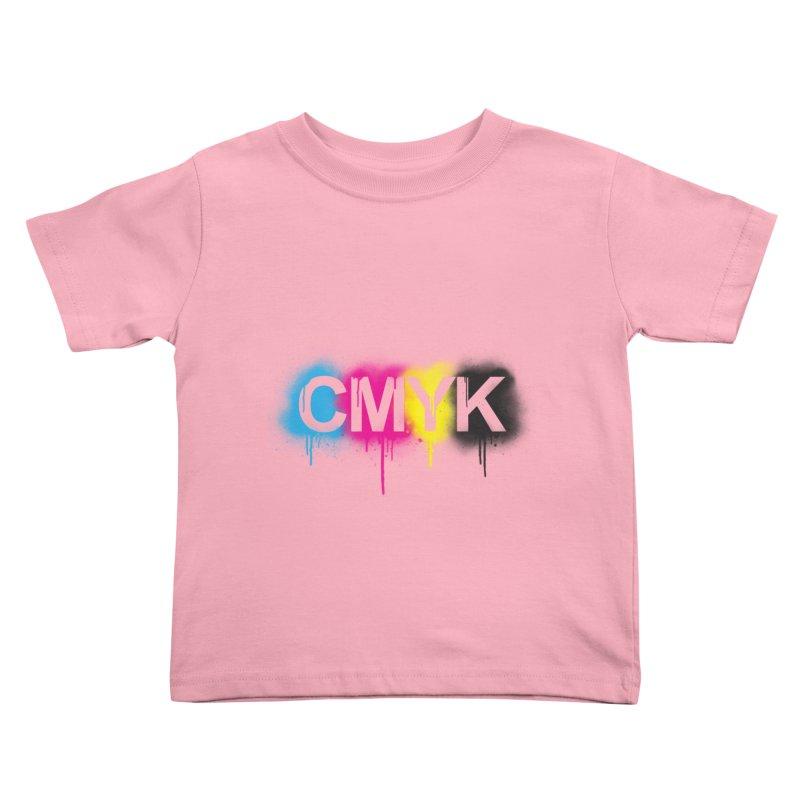 CMYK Kids Toddler T-Shirt by tonydesign's Artist Shop