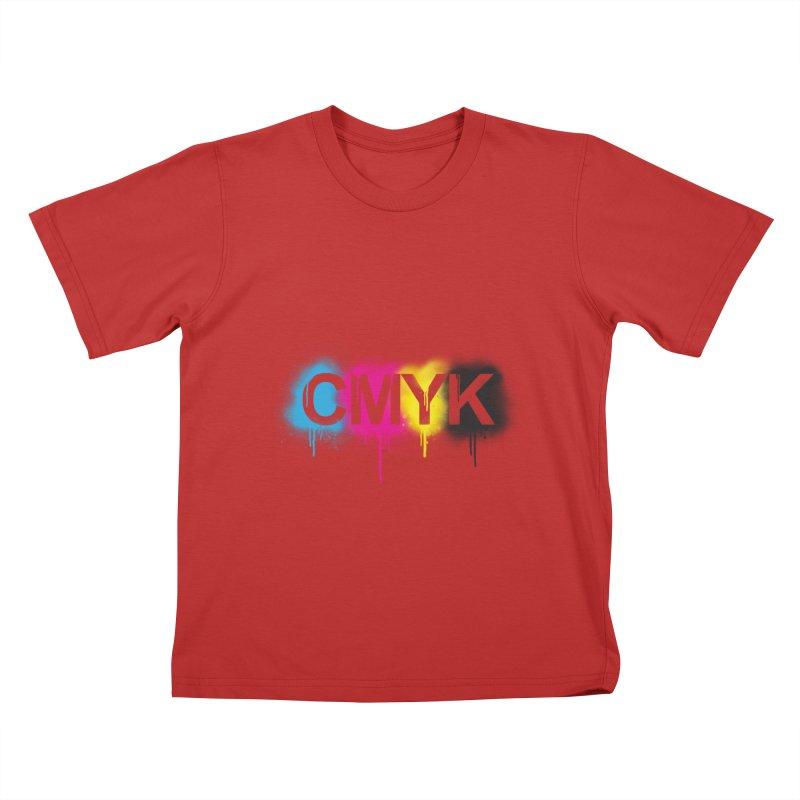 CMYK Kids T-Shirt by tonydesign's Artist Shop