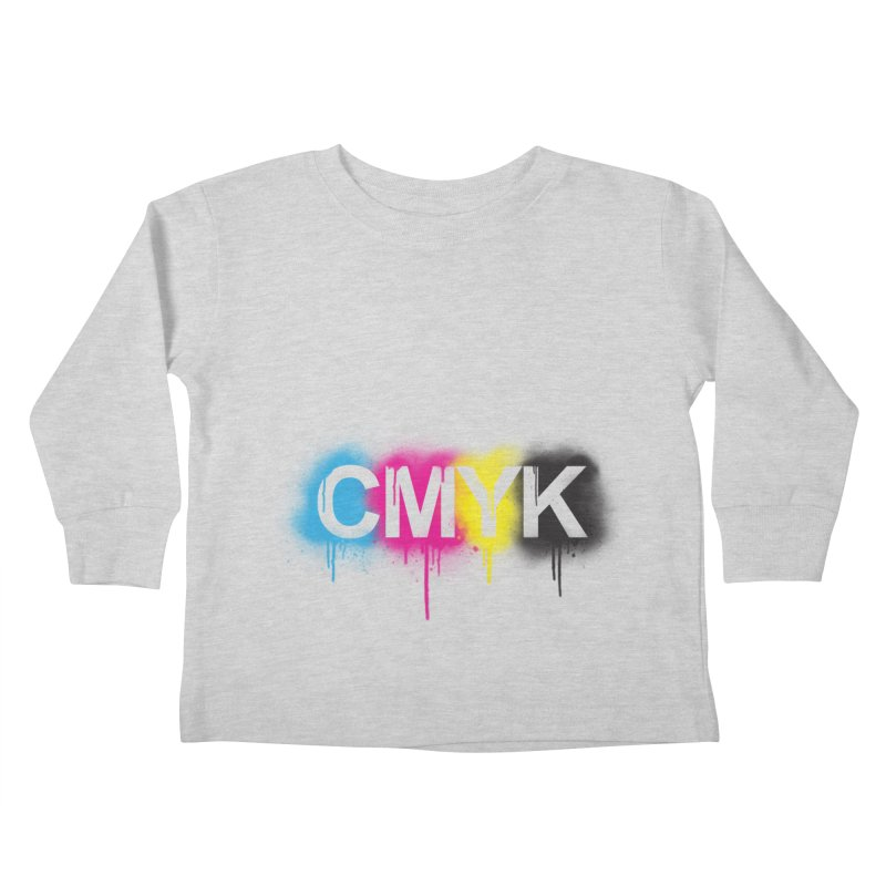 CMYK Kids Toddler Longsleeve T-Shirt by tonydesign's Artist Shop