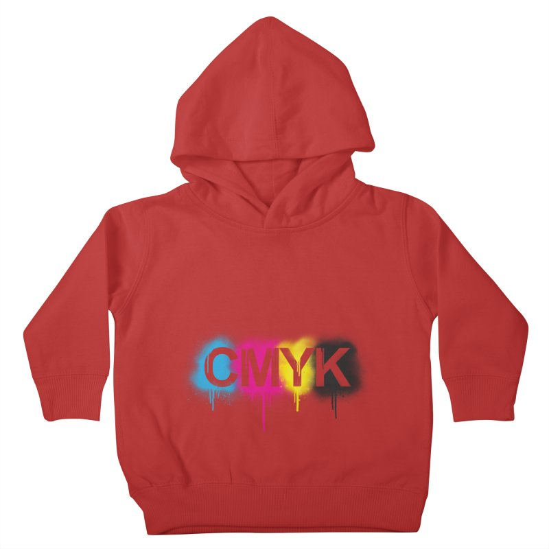 CMYK Kids Toddler Pullover Hoody by tonydesign's Artist Shop