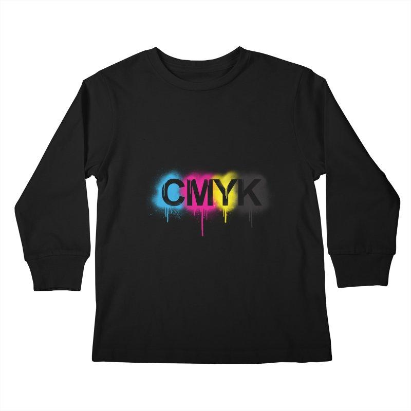 CMYK Kids Longsleeve T-Shirt by tonydesign's Artist Shop