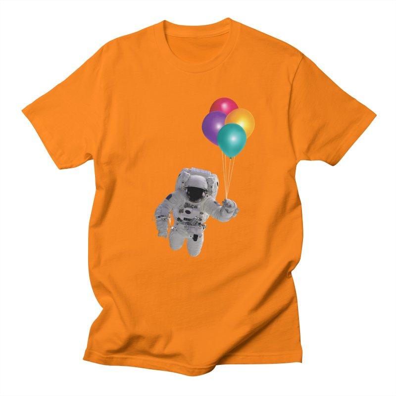 Houston, I'm Flying Men's T-Shirt by tonydesign's Artist Shop