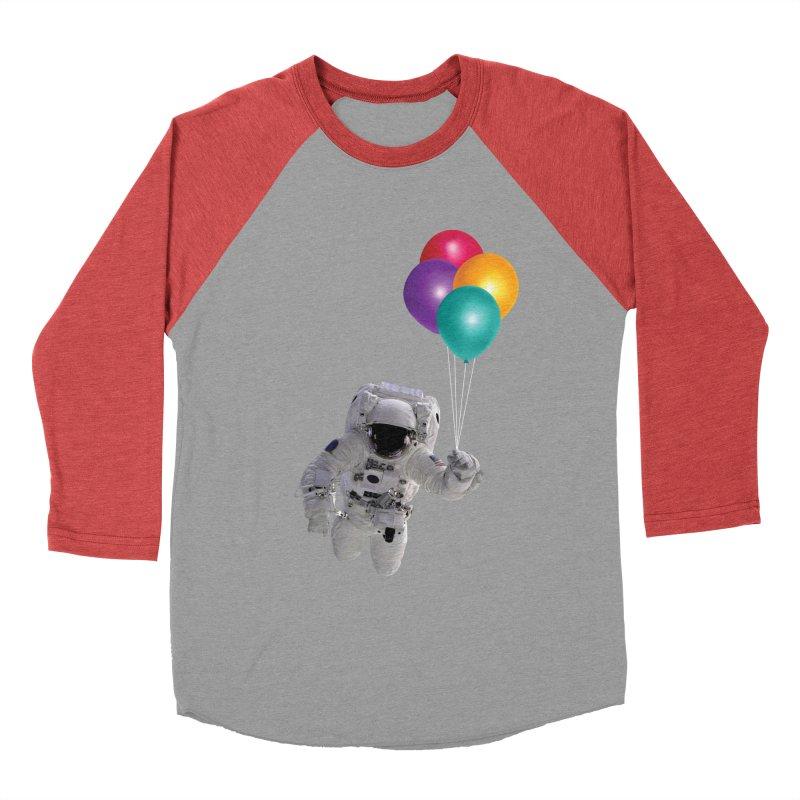 Houston, I'm Flying Women's Baseball Triblend T-Shirt by tonydesign's Artist Shop