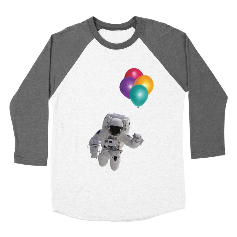 Houston, I'm Flying Men's Baseball Triblend T-Shirt by tonydesign's Artist Shop