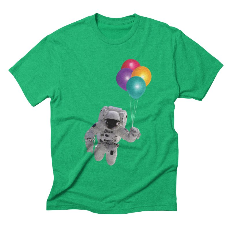 Houston, I'm Flying Men's Triblend T-shirt by tonydesign's Artist Shop