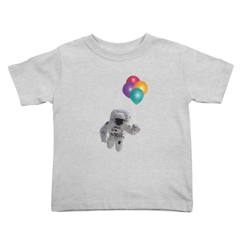Houston, I'm Flying Kids Toddler T-Shirt by tonydesign's Artist Shop