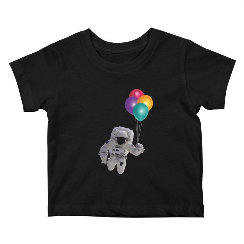 Houston, I'm Flying Kids Baby T-Shirt by tonydesign's Artist Shop