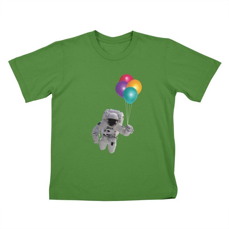 Houston, I'm Flying Kids T-Shirt by tonydesign's Artist Shop