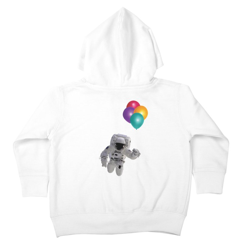 Houston, I'm Flying Kids Toddler Zip-Up Hoody by tonydesign's Artist Shop