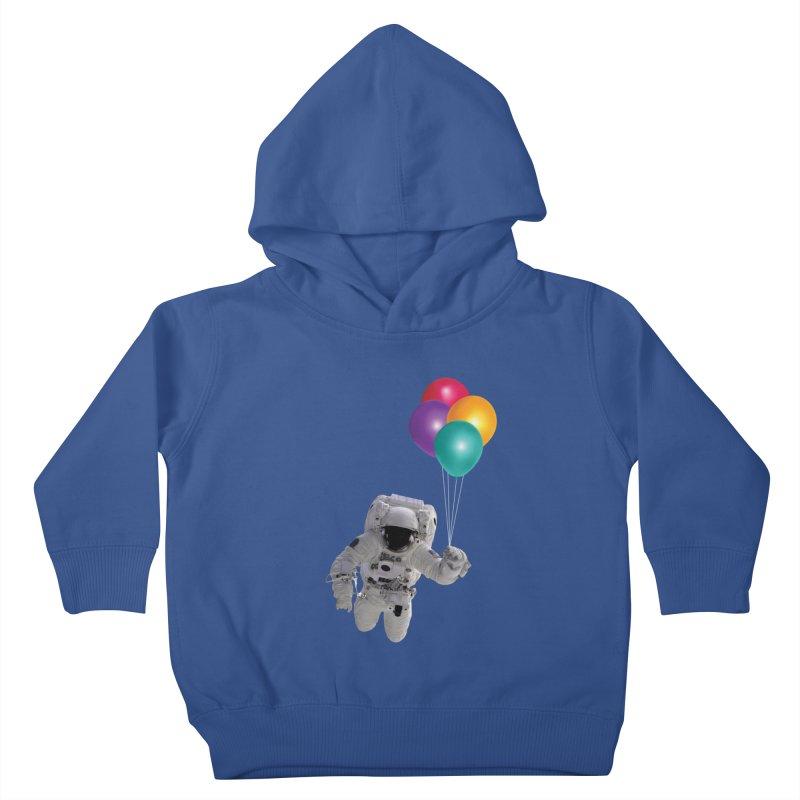 Houston, I'm Flying Kids Toddler Pullover Hoody by tonydesign's Artist Shop