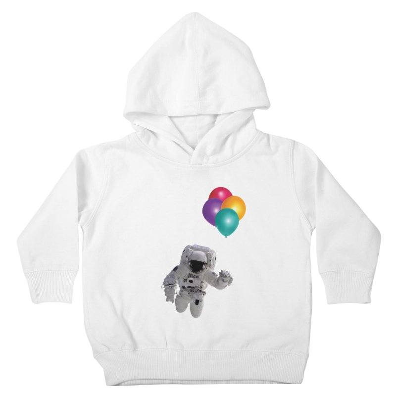 Houston, I'm Flying Kids Toddler Pullover Hoody by tonydesign's Artist Shop