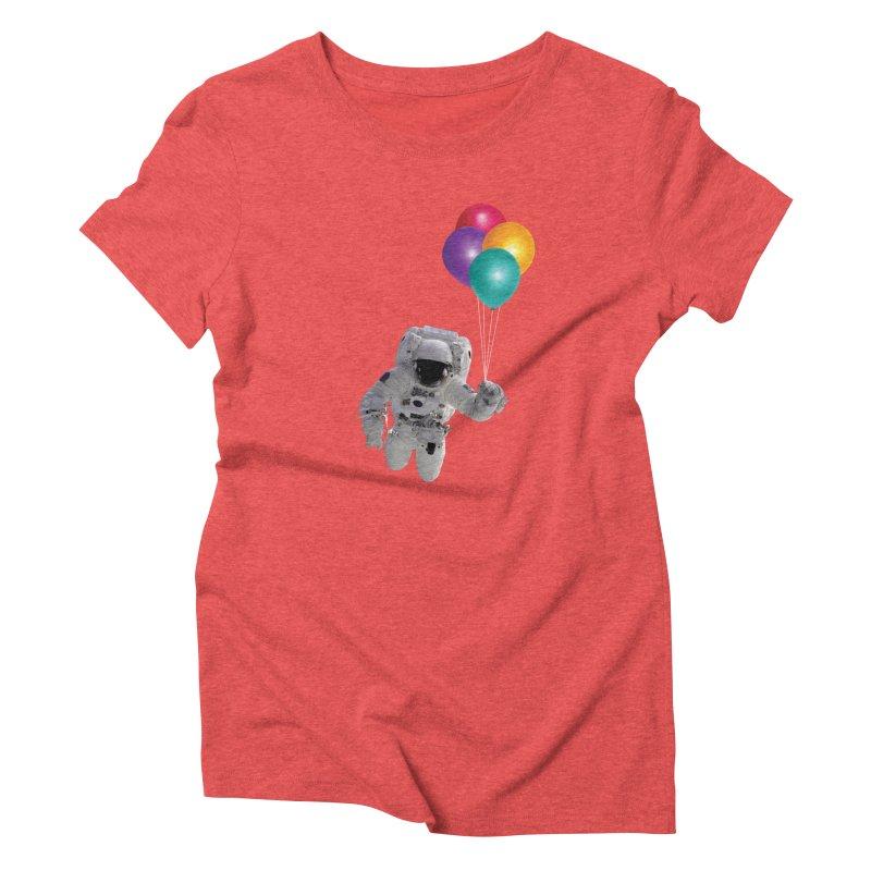 Houston, I'm Flying Women's Triblend T-shirt by tonydesign's Artist Shop