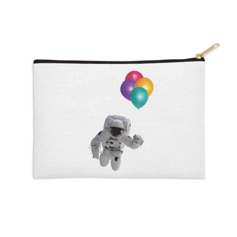 Houston, I'm Flying Accessories Zip Pouch by tonydesign's Artist Shop
