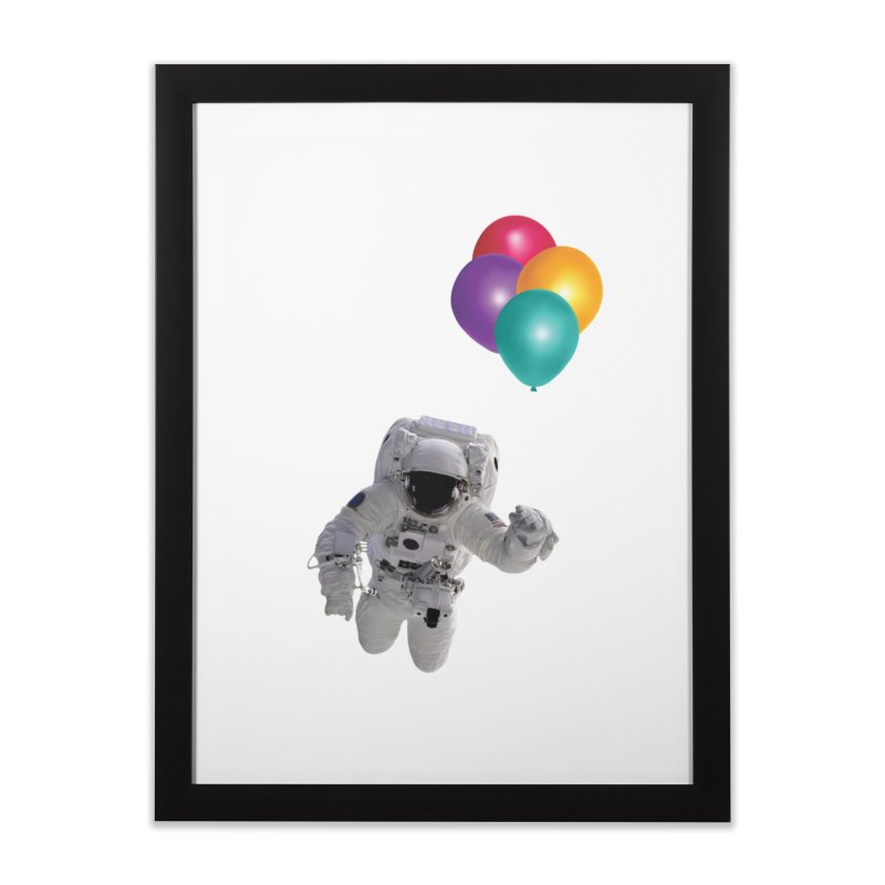 Houston, I'm Flying Home Framed Fine Art Print by tonydesign's Artist Shop
