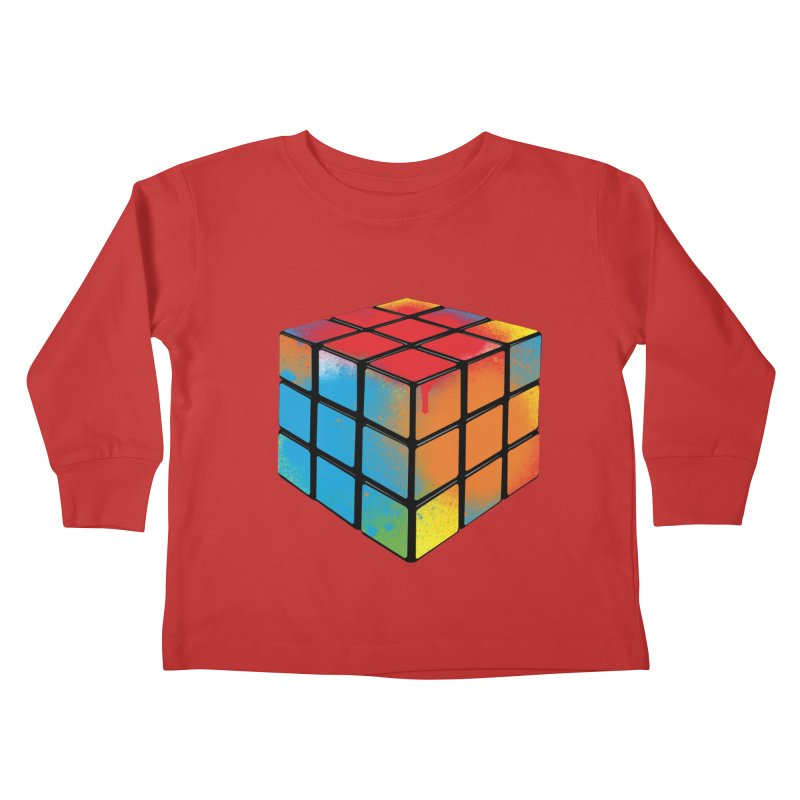 Let's Cheat! Kids Toddler Longsleeve T-Shirt by tonydesign's Artist Shop