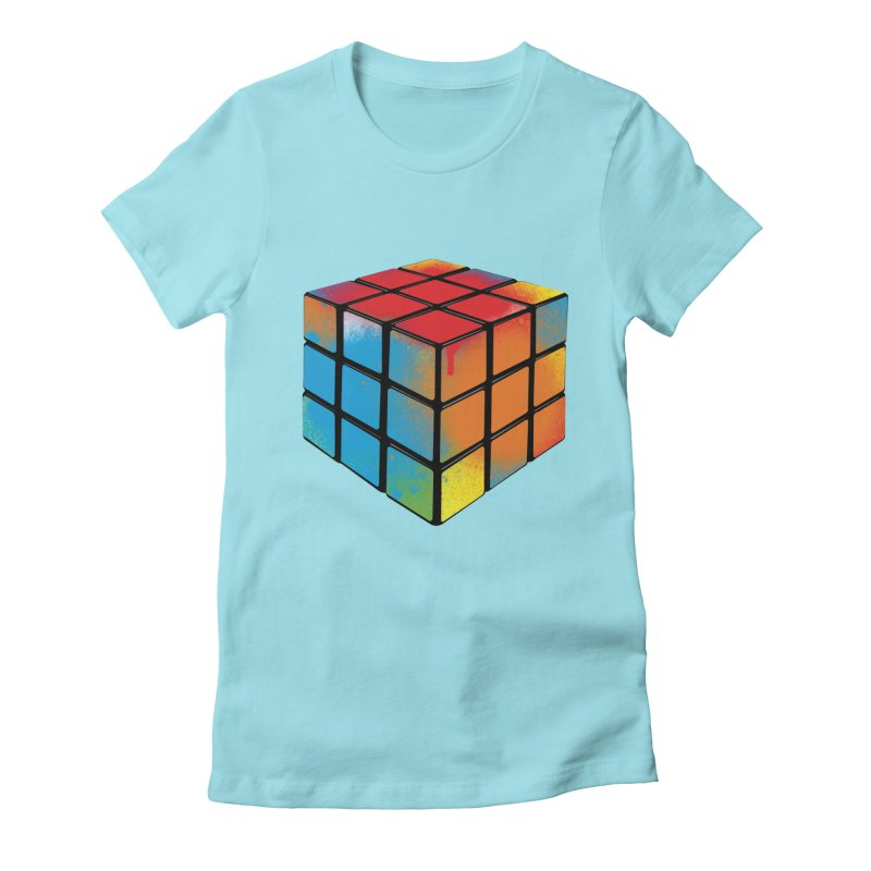 Let's Cheat! Women's Fitted T-Shirt by tonydesign's Artist Shop