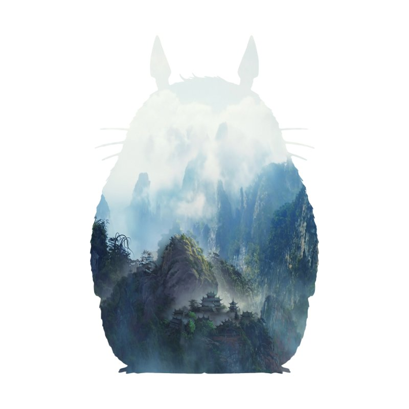 Totoro None  by tonydesign's Artist Shop
