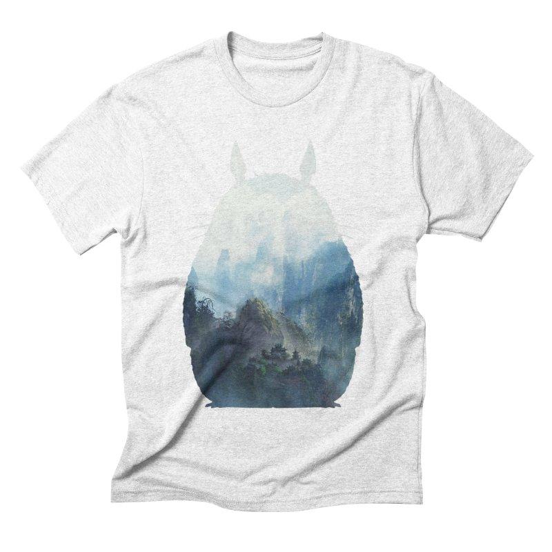 Totoro Men's Triblend T-shirt by tonydesign's Artist Shop