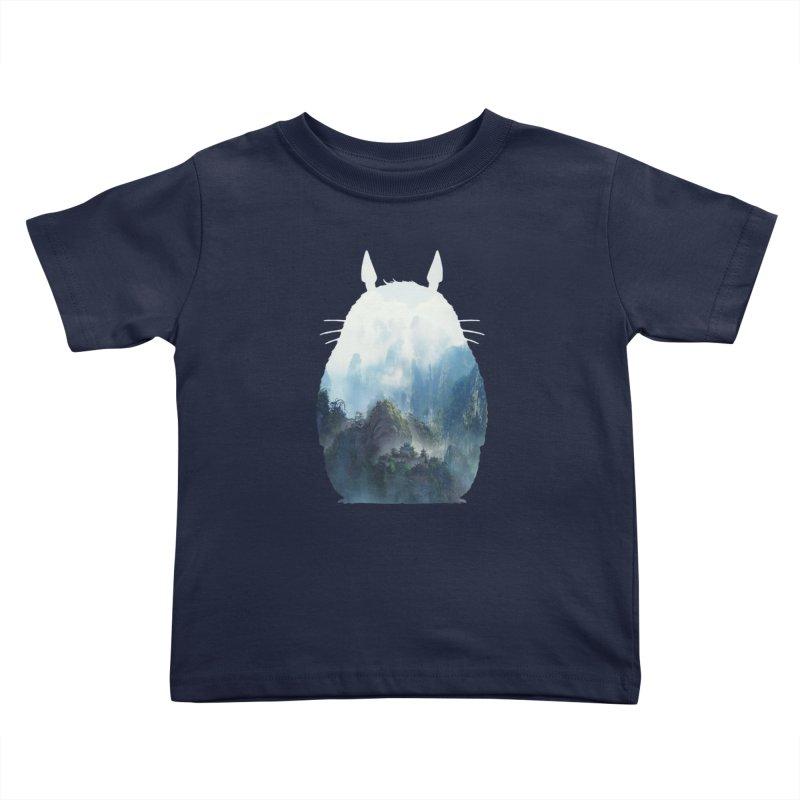 Totoro Kids Toddler T-Shirt by tonydesign's Artist Shop