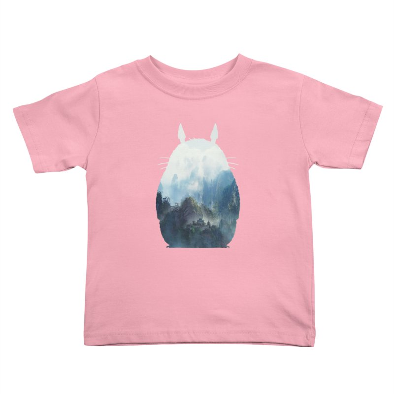 Totoro Kids Toddler T-Shirt by tonydesign's Artist Shop