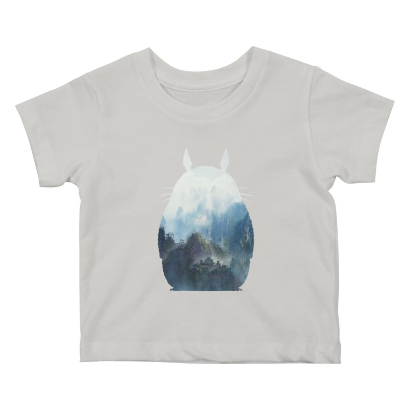 Totoro Kids Baby T-Shirt by tonydesign's Artist Shop