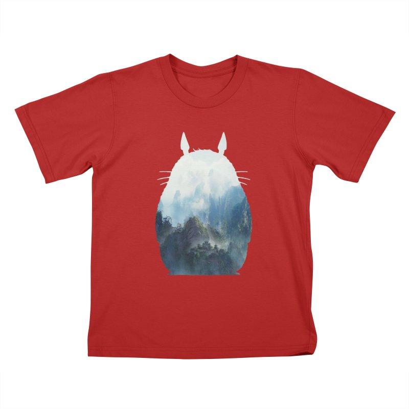 Totoro Kids T-shirt by tonydesign's Artist Shop