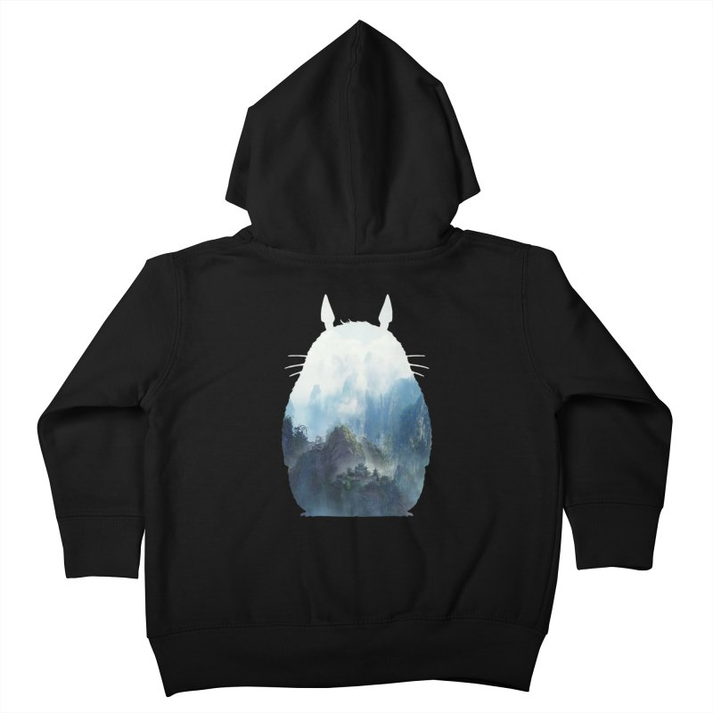 Totoro Kids Toddler Zip-Up Hoody by tonydesign's Artist Shop