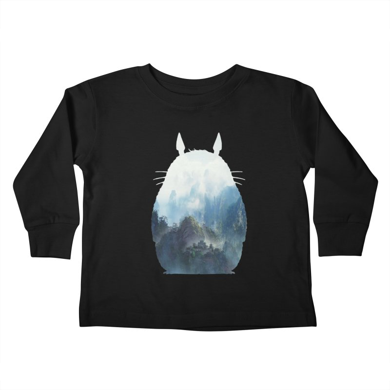 Totoro Kids Toddler Longsleeve T-Shirt by tonydesign's Artist Shop