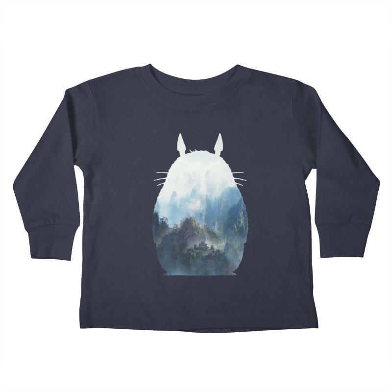 Totoro Kids Toddler Longsleeve T-Shirt by tonydesign's Artist Shop