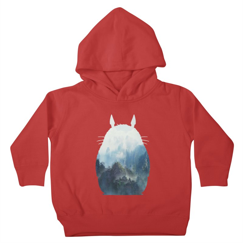 Totoro Kids Toddler Pullover Hoody by tonydesign's Artist Shop