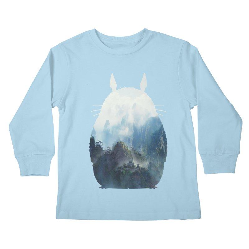 Totoro Kids Longsleeve T-Shirt by tonydesign's Artist Shop