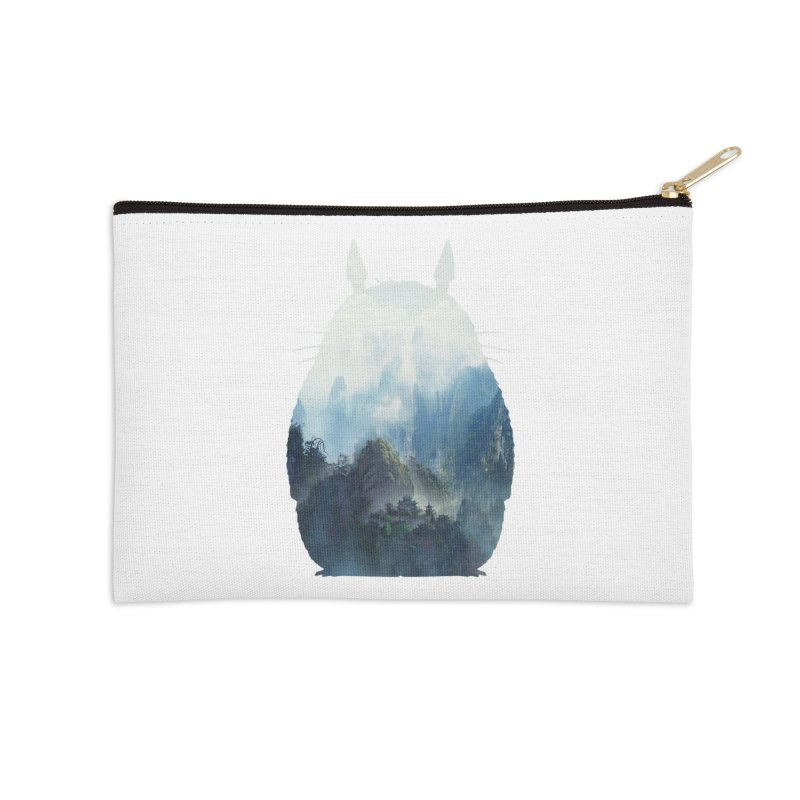 Totoro Accessories Zip Pouch by tonydesign's Artist Shop