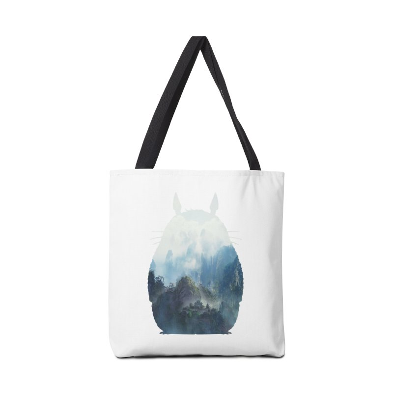 Totoro Accessories Bag by tonydesign's Artist Shop