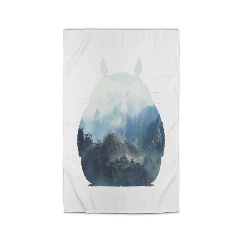 Totoro Home Rug by tonydesign's Artist Shop