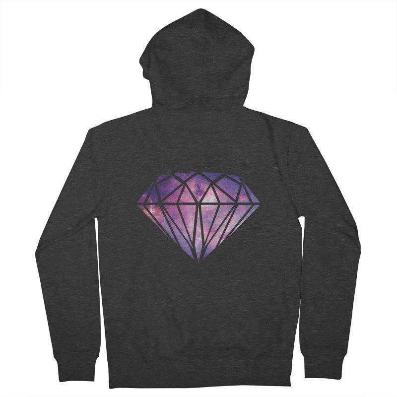Galaxy Diamond Women's Zip-Up Hoody by tonydesign's Artist Shop