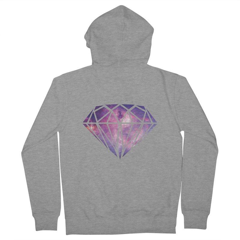 Galaxy Diamond Men's Zip-Up Hoody by tonydesign's Artist Shop