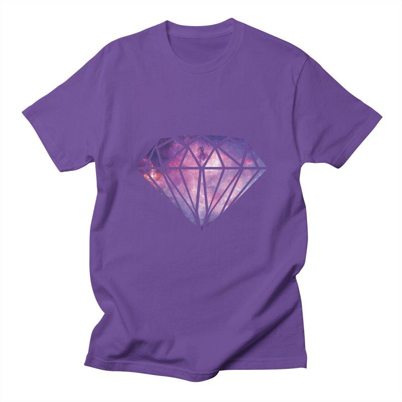 Galaxy Diamond Men's T-shirt by tonydesign's Artist Shop
