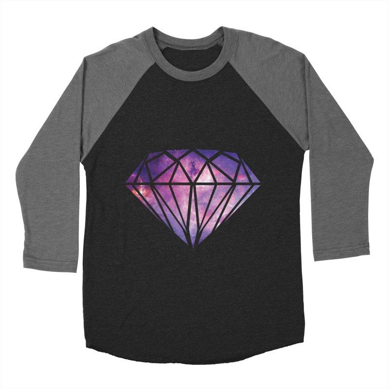 Galaxy Diamond Men's Baseball Triblend T-Shirt by tonydesign's Artist Shop