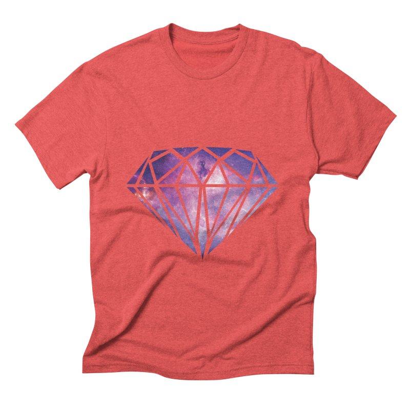 Galaxy Diamond Men's Triblend T-shirt by tonydesign's Artist Shop