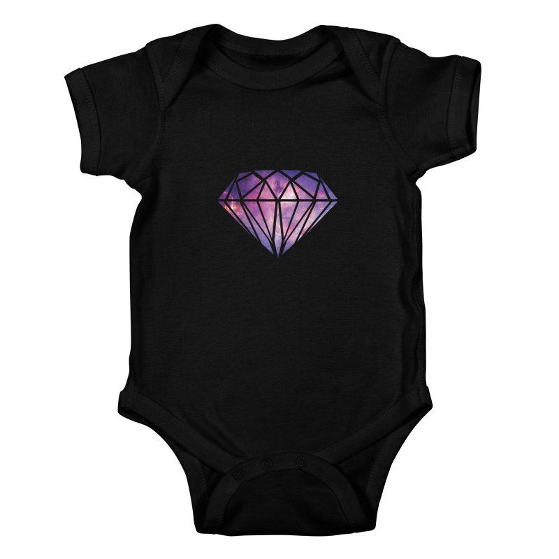 Galaxy Diamond Kids Baby Bodysuit by tonydesign's Artist Shop