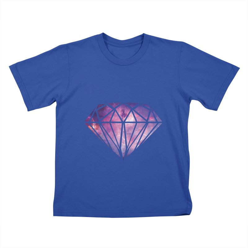 Galaxy Diamond Kids T-shirt by tonydesign's Artist Shop