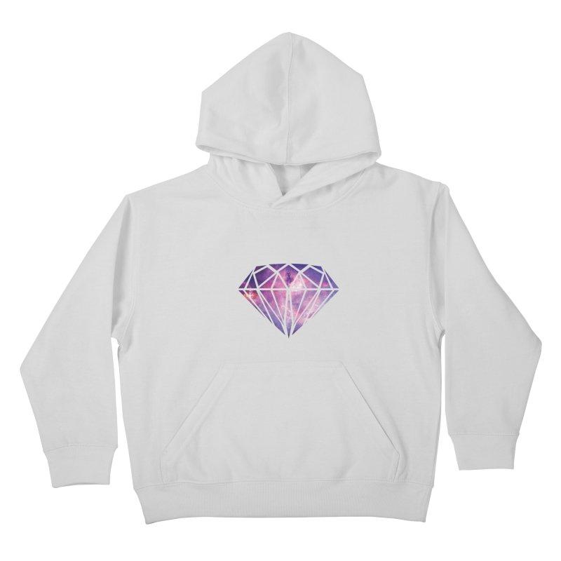Galaxy Diamond Kids Pullover Hoody by tonydesign's Artist Shop