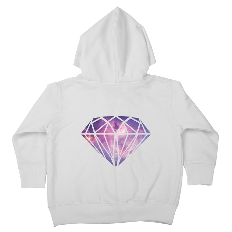 Galaxy Diamond Kids Toddler Zip-Up Hoody by tonydesign's Artist Shop