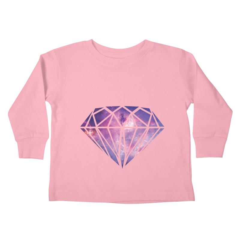 Galaxy Diamond Kids Toddler Longsleeve T-Shirt by tonydesign's Artist Shop