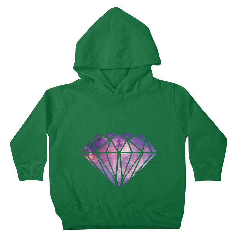 Galaxy Diamond Kids Toddler Pullover Hoody by tonydesign's Artist Shop