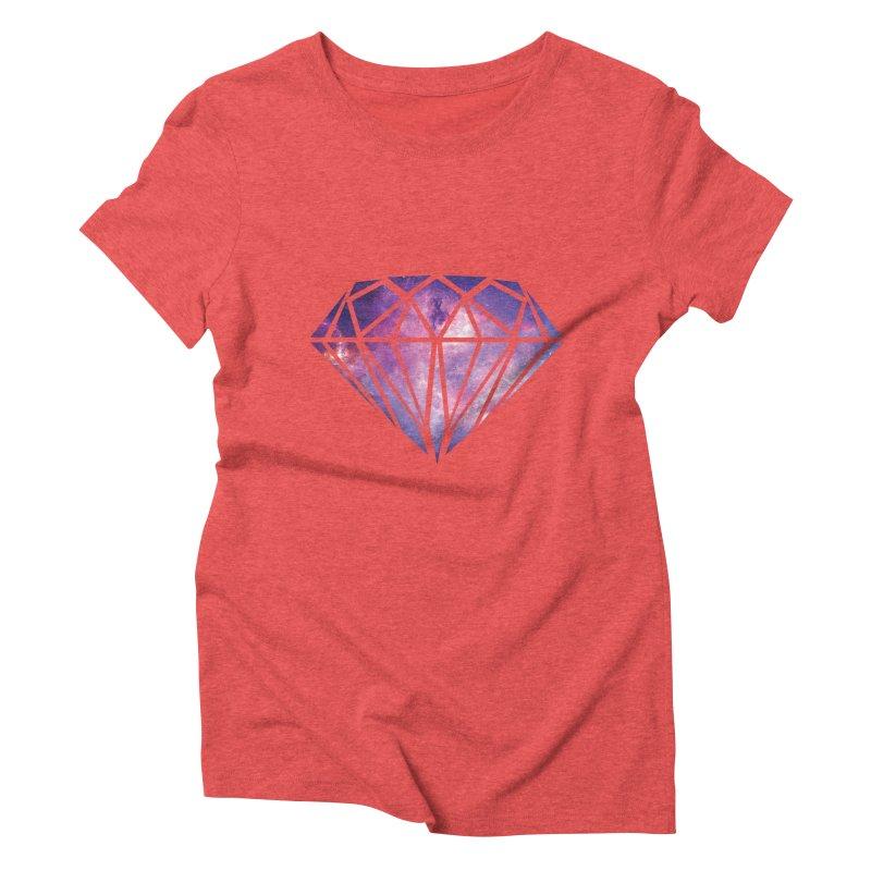 Galaxy Diamond Women's Triblend T-shirt by tonydesign's Artist Shop
